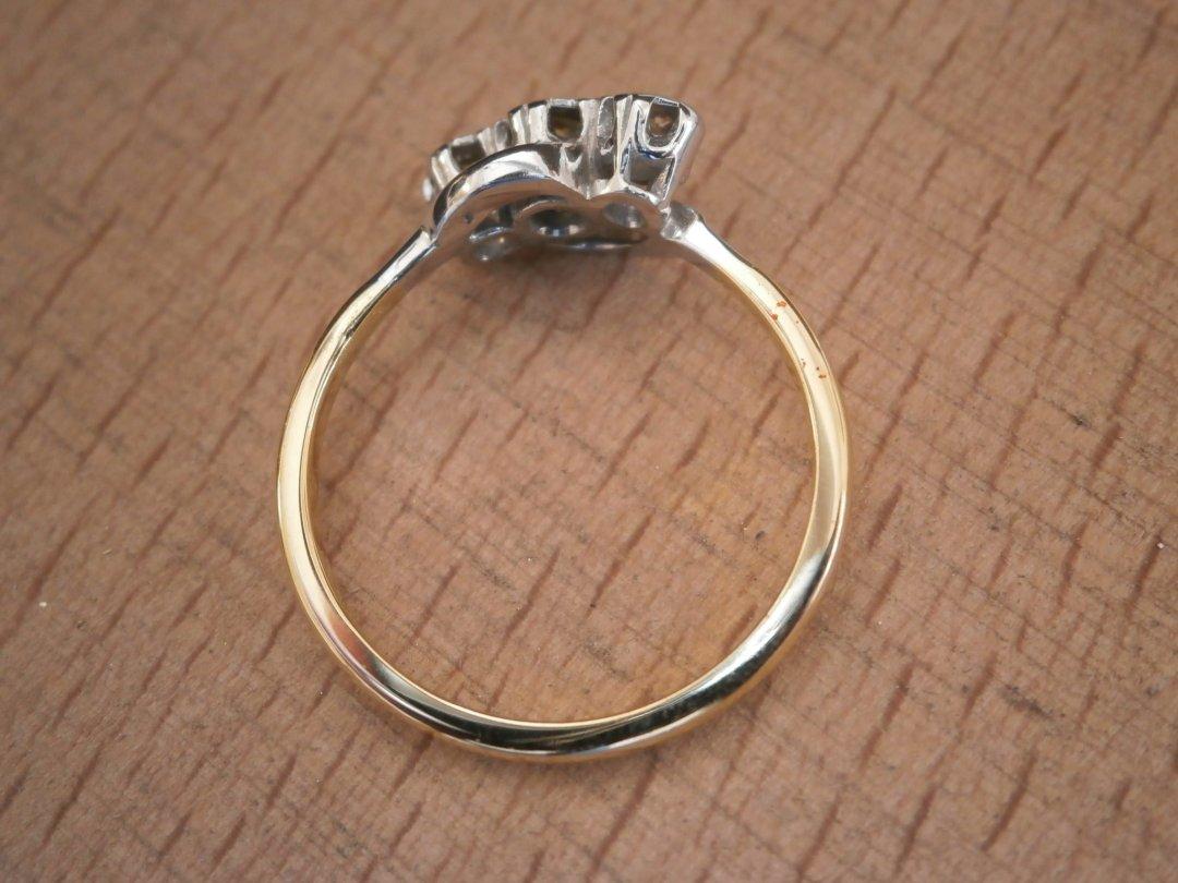 Diamond ring refurbishment