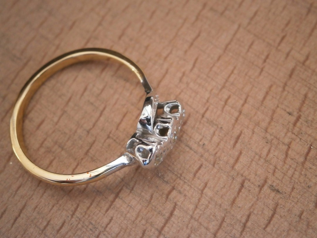 The ring after polishing