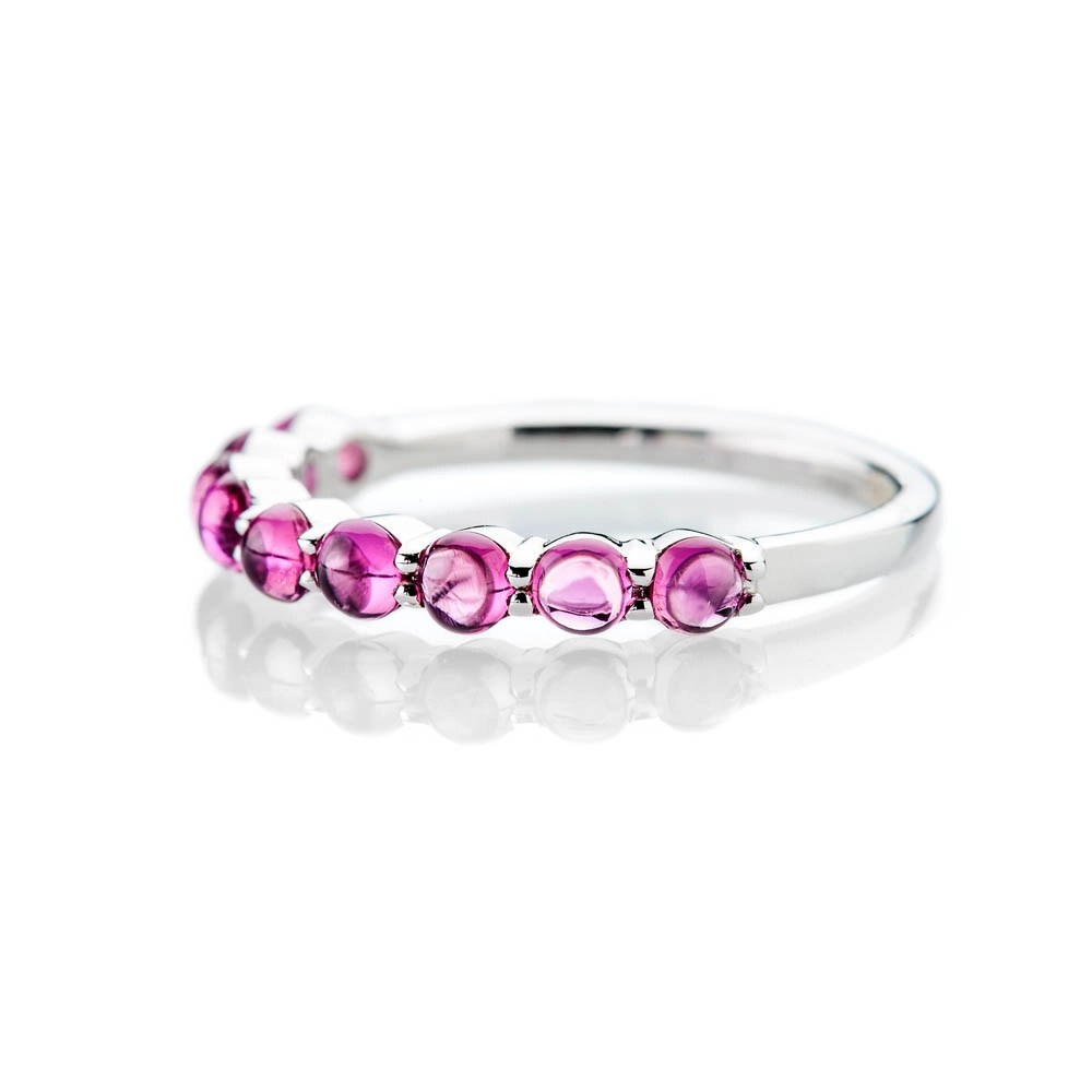 Heidi Kjeldsen Stylish Pink Natural Tourmaline And Gold Dress Ring - R1327-1