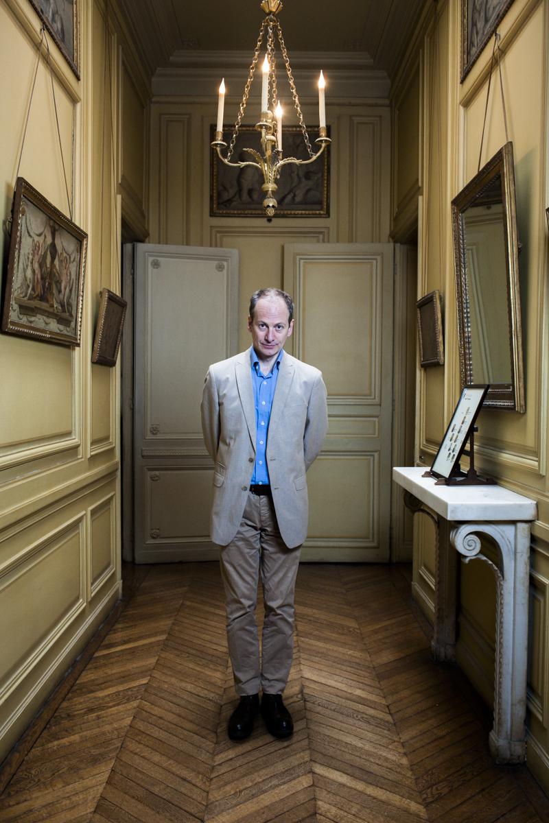 Artiste au musée Camondo à paris (75)