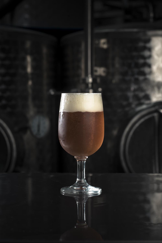 verre de bière artisanal