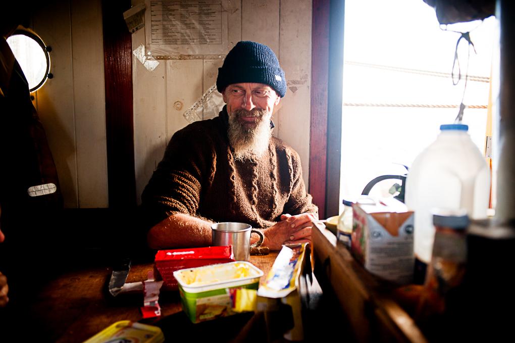 Wessel, le cuisinier du Tres Hombres