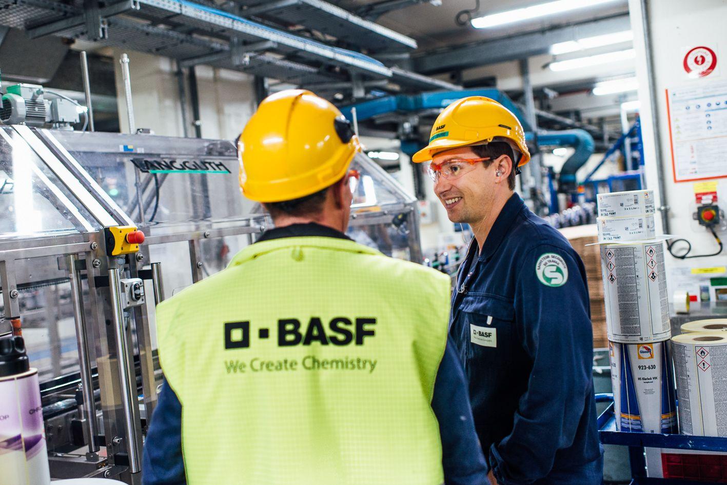 usine BASF