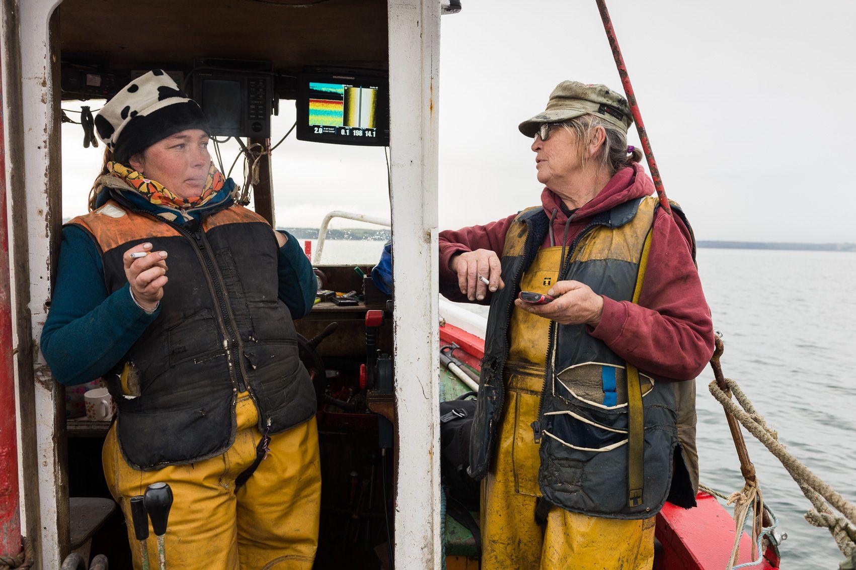 pêche à la praire