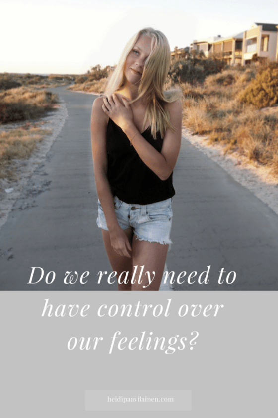 Do we need to have control over our feelings? Many times we believe that we need to control our emotions in order to overcome our negative feelings. What if it was easier than that? In this post I'm going to share with you how having a calm mind is our natural state of being and how can we more easily bring ourselves back to balance again. Click through to read the post.