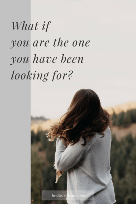 You are the one you have been looking for | Spiritual guidance | 3 Principles | Self-love | Relationship advice |