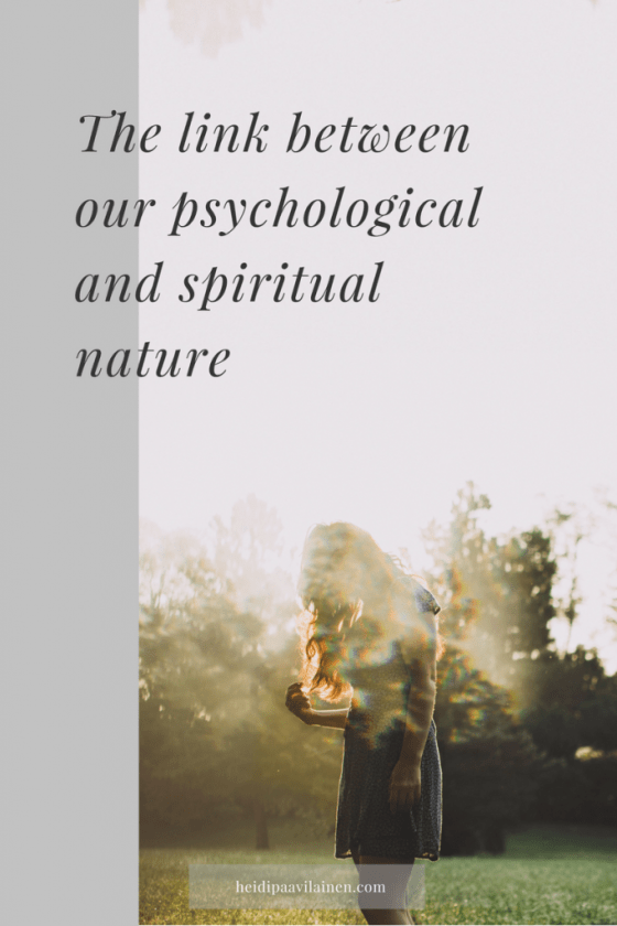 The link between our psychological and spiritual nature. Spiritual awakening through the 3 Principles understanding for happiness and mental wellbeing. #threeprinciples #spiritualawakening #mentalhealth #spiritualguidance