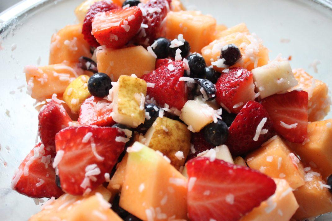 Cinnamon Coconut Fruit Salad