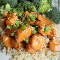 Easy Crockpot Sesame Chicken