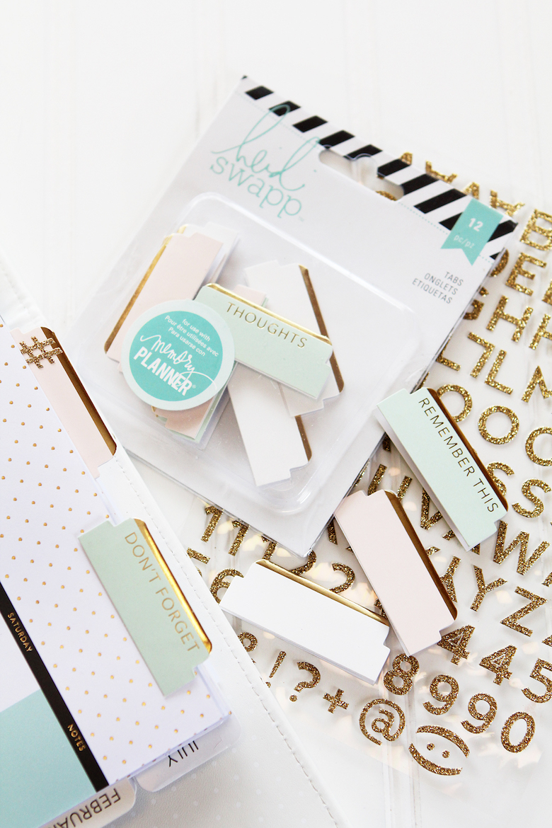 Memory Planner Boxed Kit Beautiful Heidi Swapp