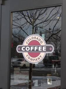 Colorado Coffee Company is located at Hwy 34 & County Road 9, inside the First National Bank Building in Loveland, Colorado. Photo by H.M. Kerr-Schlaefer.