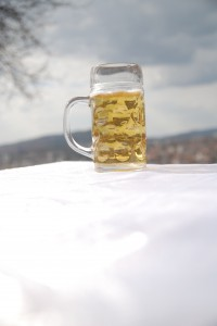 Oktoberfest celebration in Colorado mug of beer