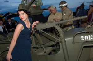 Photo from the 1940s WWII Era Ball in 2009
