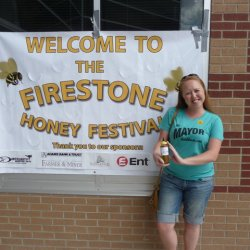 Heidi at Firestone Honey Festival