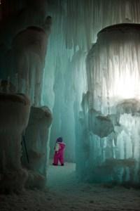 Ice Castles in Silverthorne 1