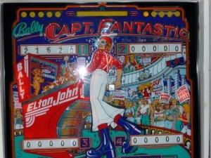 Elton John Pinball Machine Manitou Springs Colorado