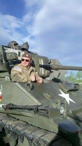 WWII ball tank