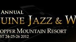 Genuine Jazz & Wine logo