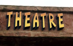 sign. theatre sign