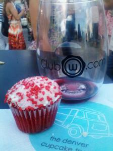 Cupcakes from Denver Cupcake Truck at Unwined Denver 2012