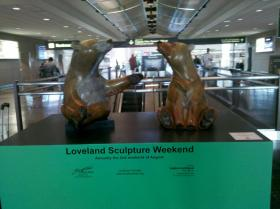 bear sculptures at DIA by HeidiTown