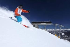 Awesome downhill skier at Breckenridge Resort. Courtesy photo.