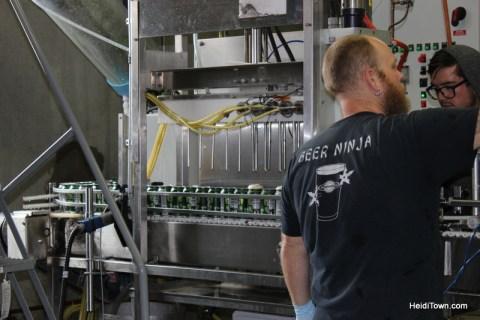 beer ninja at Ska Brewing in Durango, Colorado. HeidiTown.com