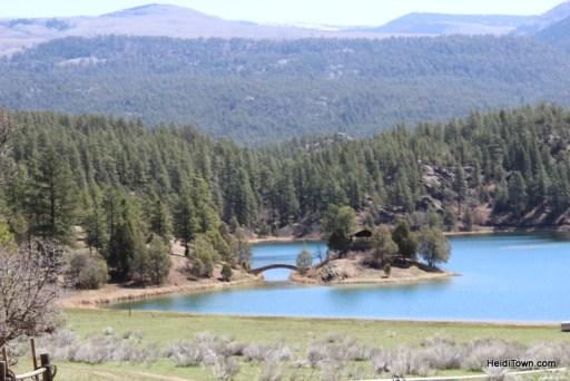 lake scenery from the Durango & Silverton Narrow Gauge Railroad HeidiTown.com