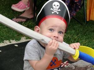 Baby at the Pagosa Renaissance & Pirates Festival. Courtesy photo