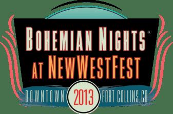 Bohemian Nights New West Fest 2013 LOGO