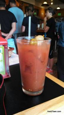 a bloody mary at Goodys in Winter Park. HeidiTown.com