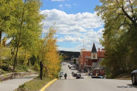 Leadville Colorado in the fall. HeidiTown.com Heidi Kerr-Schlaefer