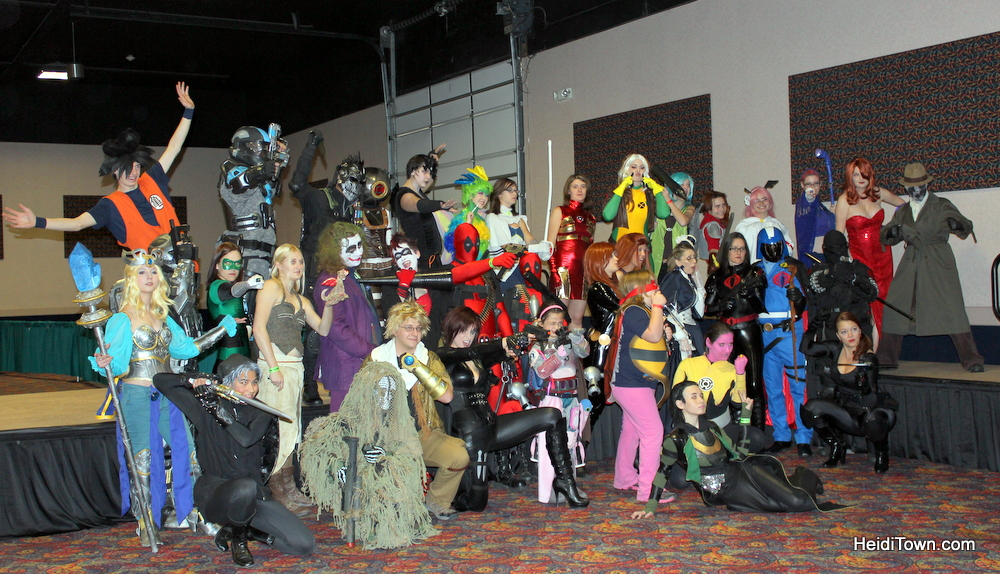 Cosplay contest at Rocky Mountain Con 2013, in Denver, Colorado. HeidiTown.com (2)