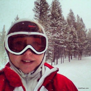 skiing at the Breckenridge Nordic Center. HeidiTown.com