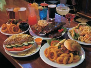 food at Washingon's Sports Bar & Grill in Fort Collins Colorado