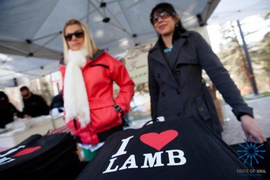 I love Lamb Taste of Vail. Photo by Zach Mahone Photography