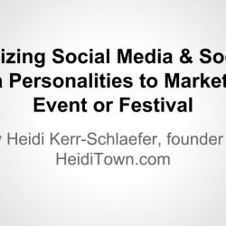 Utilizing Social Media- Presentation - CFEA