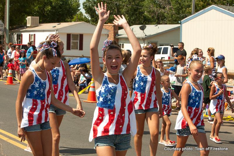 Firestone Colorado 4th of July Parade