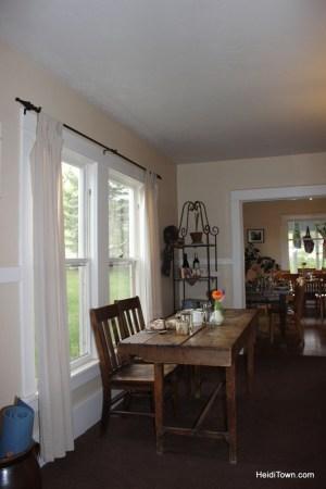 Fresh & Wyld farmhouse Inn & Gardens, Paonia, Colorado. HeidiTown.com