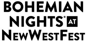 Logo- Bohemian Nights at NewWestFest 2014 PNG