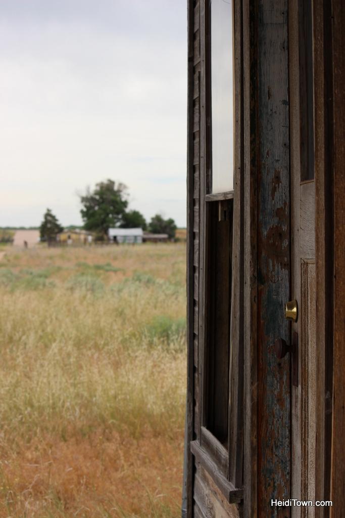 ghost town. Dearfield, Colorado. HeidiTown.com