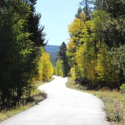 Hiking the Mineral Belt Trail in Leadville, Colorado. HeidiTown.com