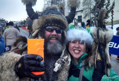 Me and Ullr at Ullr Fest in Breckenridge, Colorado. HeidiTown.com