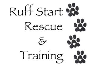 Ruff Start Rescue & Training LOGO