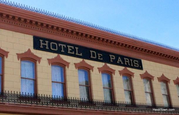 Hotel de Paris, Georgetown, Colorado. HeidiTown.com