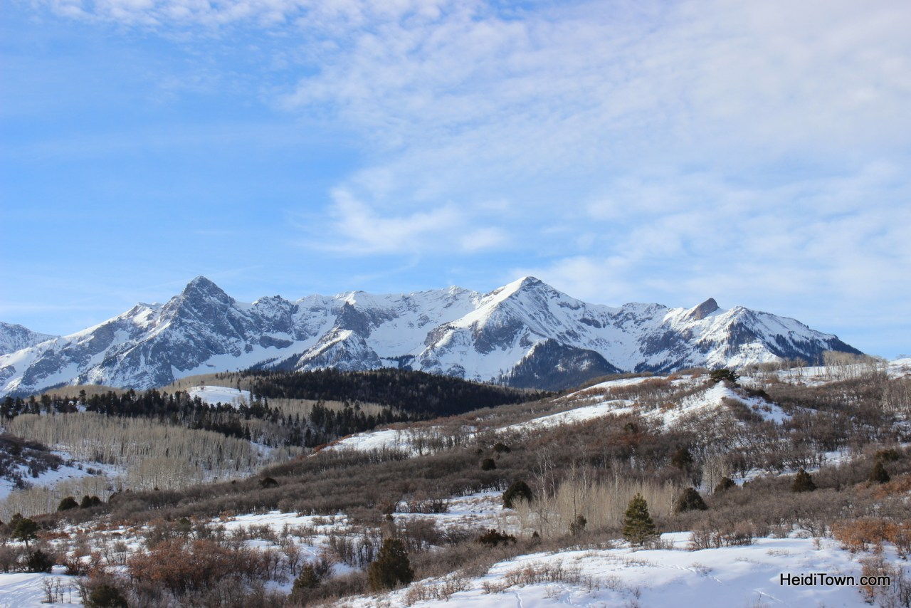 Dallas Divide near Telluride, Ridgway and Ouray, Colorado. HeidiTown.com