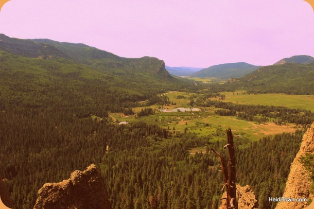 The vista from Wolf Creek Pass, Colorado. Ten reasons road trips rule. HeidiTown.com