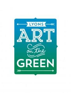 Art on the Green logo