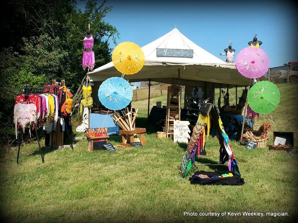 Kevin Weekley Magician. Colorado Medieval Festival. HeidiTown.com