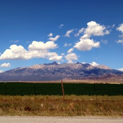 Taking the long way home, #TravelTuesday. Blanca Peak, Colorado. HeidiTown.com